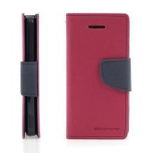 Ochranné pouzdro pro Apple iPhone 5C Mercury Goospery - prostor pro umístění platebních karet - růžové-modré