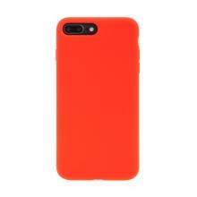 Kryt pro Apple iPhone 7 Plus / 8 Plus - příjemný na dotek - silný - silikonový - červený