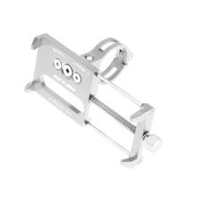 Držák na kolo GUB G-85 pro Apple iPhone - univerzální - pevný - hliník - stříbrný