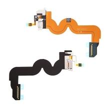Flex kabel s Lightning konektorem + audio jack konektor pro Apple iPod touch 5.gen. - bílý - kvalita A+
