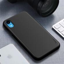 Kryt IPAKY pro Apple iPhone Xr - gumový - černý
