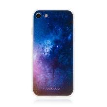 Kryt BABACO pro Apple iPhone 7 / 8 / SE (2020) - gumový - galaxie