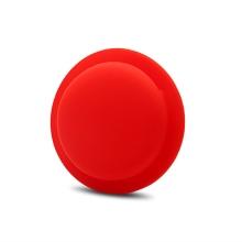 Kryt / obal pro Apple AirTag - nalepovací - silikonový - červený