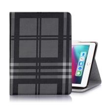 """Pouzdro / kryt pro Apple iPad Pro 12,9"""" (2018) - prostor pro platební karty + stojánek - umělá kůže - černé"""