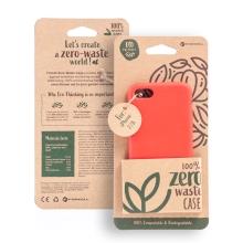 Kryt FORCELL BIO - pro Apple iPhone 7 / 8 / SE (2020) - Zero Waste kompostovatelný kryt - červený