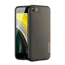 Kryt DUX DUCIS Fino pro Apple iPhone 7 / 8 / SE (2020) - gumový / látkový - khaki zelený