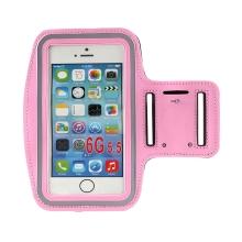 Sportovní pouzdro pro Apple iPhone včetně velikostí Plus a Max - růžové