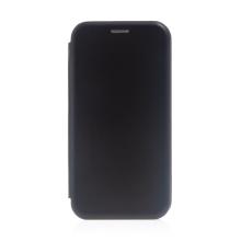 Pouzdro pro Apple iPhone 13 Pro Max - umělá kůže / gumové - černé