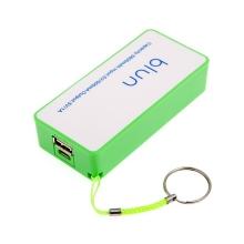 Externí baterie / power bank 5600mAh - zelená