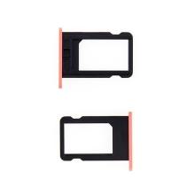Rámeček / šuplík na Nano SIM pro Apple iPhone 5C - růžový - kvalita A+