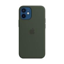 Originální kryt pro Apple iPhone 12 mini - silikonový - kypersky zelený