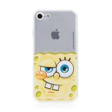 Kryt Sponge Bob pro Apple iPhone Xs Max - gumový - potutelný Sponge Bob