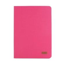 Pouzdro KAKUSIGA pro Apple iPad Air 1 / Air 2 / Pro 9,7 / 9,7 (2017-2018) - látková textura - růžové