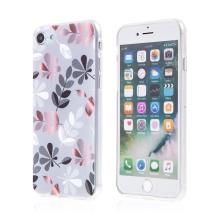 Kryt pro Apple iPhone 7 / 8 / SE (2020) - gumový - větvičky a listí