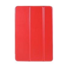 Pouzdro pro Apple iPad mini 1 / 2 / 3 - stojánek + chytré uspání - umělá kůže - červené