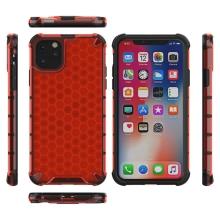Kryt pro Apple iPhone 11 Pro - plastový / gumový - černý / červený