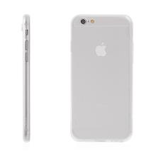Kryt HOCO pro Apple iPhone 6 / 6S - antiprachová záslepka - tenký gumový průhledný