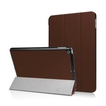 Pouzdro / kryt pro Apple iPad 9,7 (2017-2018) - funkce chytrého uspání + stojánek - hnědé
