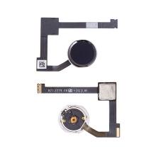 Obvod tlačítka Home Button + připojovací flex + tlačítko Home Button pro Apple iPad Air 2 / mini 4 / Pro 12,9 - černé - kvalita A+