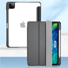 """Pouzdro MUTURAL pro Apple iPad 11"""" (2018 / 2020 / 2021) - stojánek + prostor pro Apple Pencil - černé"""