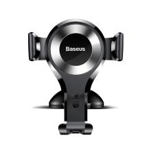 Držák do auta BASEUS Gravity - automatické uchycení - s přísavkou - černý / stříbrný