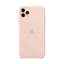Originální kryt pro Apple iPhone 11 Pro Max - silikonový - pískově růžový