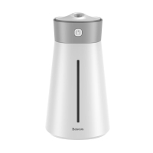 Zvlhčovač vzduchu BASEUS - inteligentní zvlhčování - LED lampička - bílý