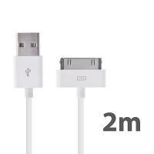 Synchronizační a nabíjecí USB kabel pro Apple iPhone / iPad / iPod – 2m