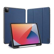 """Pouzdro DUX DUCIS pro Apple iPad Pro 12,9"""" (2018 / 2020 / 2021) - umělá kůže - tmavě modré"""