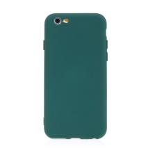 Kryt pro Apple iPhone 6 / 6S - příjemný na dotek - silikonový - lesně zelený