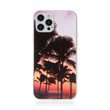 Kryt BABACO pro Apple iPhone 12 / 12 Pro - gumový - paradise