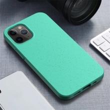 Kryt pro Apple iPhone 12 / 12 Pro - slaměné kousky - gumový - zelený