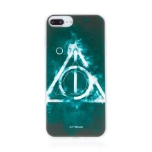 Kryt Harry Potter pro Apple iPhone 7 Plus / 8 Plus - gumový - Relikvie smrti - černý