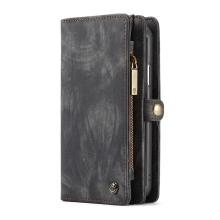 Pouzdro CASEME pro Apple iPhone Xr - peněženka + kryt - prostor na doklady - černé