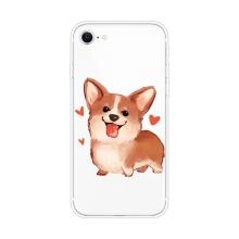 Kryt pro Apple iPhone 7 / 8 / SE (2020) - gumový - zamilovaný corgi