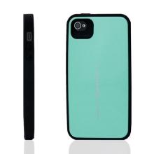 Plasto-gumový kryt Mercury Focus Bumper pro Apple iPhone 4 / 4S - zelený