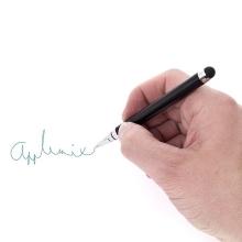 2v1 dotykové pero / stylus + propiska - černé
