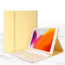 "Klávesnice pro Apple iPad 10,2"" (2019 - 2020) / iPad Pro 10,5"" / Air 10,5"" - žlutá"