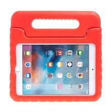 Pěnové pouzdro pro děti na Apple iPad mini 4 / mini 5 - s rukojetí / stojánkem - červené