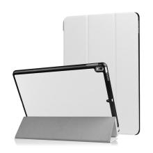 """Pouzdro / kryt pro Apple iPad Pro 10,5"""" / Air 3 (2019) - funkce chytrého uspání + stojánek - bílé"""