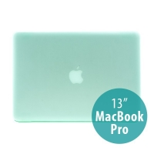 Tenký ochranný plastový obal pro Apple MacBook Pro 13 (model A1278) - matný - zelený