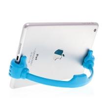 Flexibilní stojánek ruce pro Apple iPhone / iPad mini / iPod touch - modrý