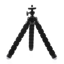 Stativ / tripod pro Apple iPhone - standardní 1/4 závit - ohebné nohy - černý