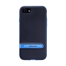 Kryt NILLKIN Youth pro Apple iPhone 7 / 8 / SE (2020) - stojánek - plastový / gumový - modrý