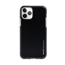 Kryt MERCURY iJelly pro Apple iPhone 11 Pro Max - gumový - matný - černý