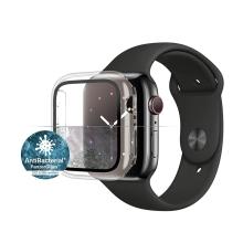 Tvrzené sklo + rámeček PANZERGLASS pro Apple Watch 44mm Series 4 / 5 / 6 / SE - průhledný