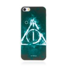 Kryt Harry Potter pro Apple iPhone 5 / 5S / SE - gumový - Relikvie smrti - černý