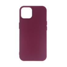 Kryt pro Apple iPhone 13 mini - silikonový - vínový