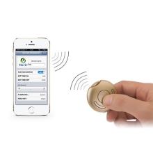 Anti-lost alarm / hledač předmětů bluetooth 4.0 pro Apple iPhone / iPad / iPod - zlatý