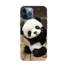 Kryt pro iPhone 12 Pro Max - gumový - malá panda